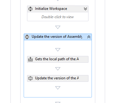 "Sequence ""Update the version of AssemblyInfo"""